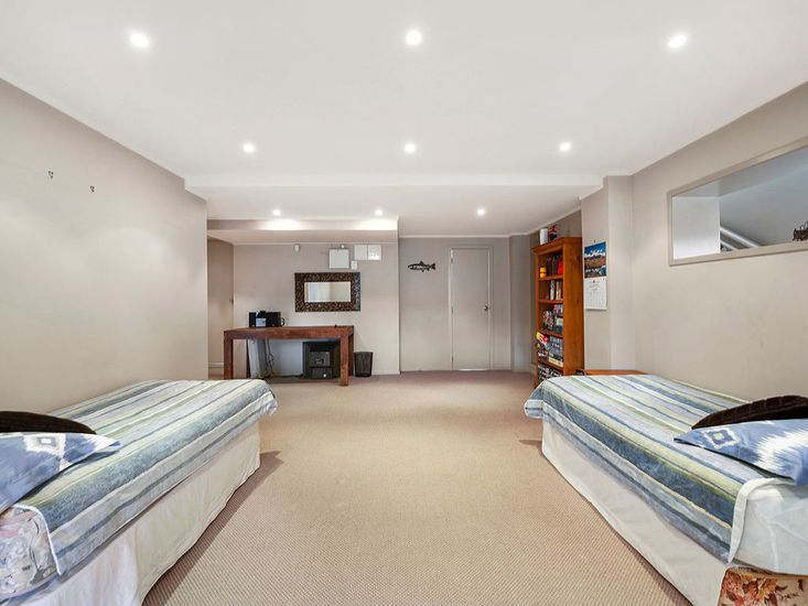Downstairs Living Area -has 2 single beds