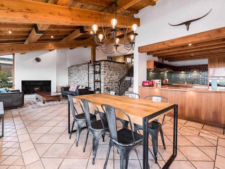 Living Area - tiles have underfloor heating