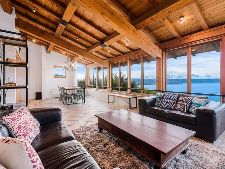 Living Area with Views - tiles have underfloor heating