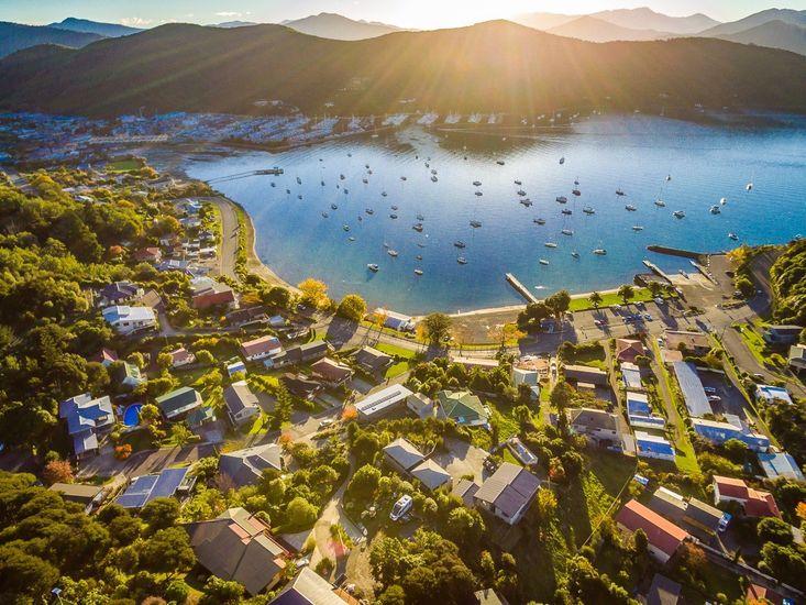 Aerial View of Waikawa