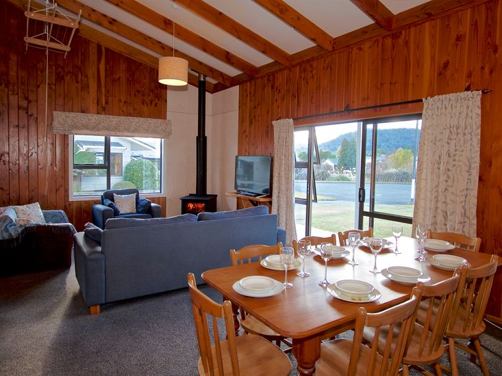 Bluebird Spa Chalet - Ohakune Holiday Home