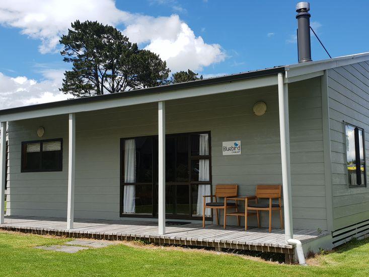 Bluebird Chalet - Ohakune Holiday Home - Exterior