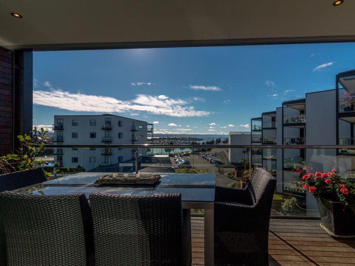 Outdoor Living from the napier apartments