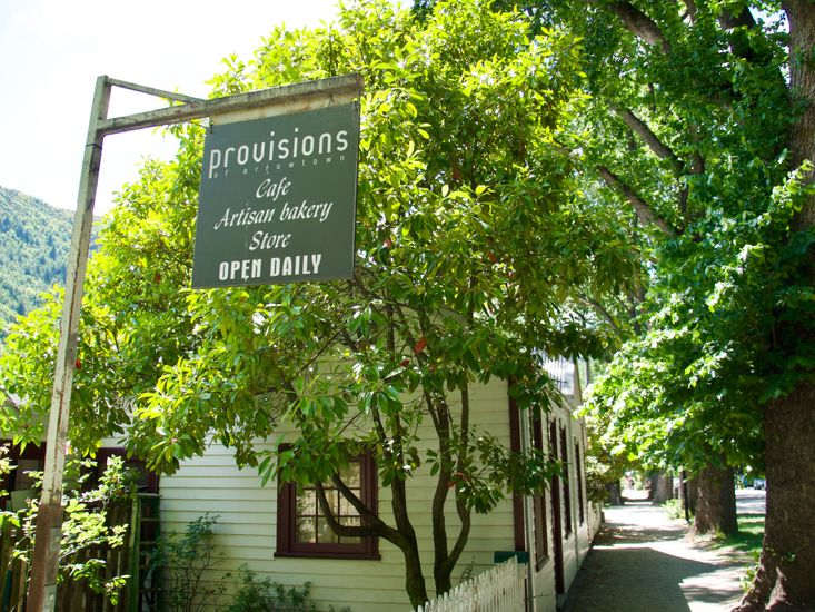 Across the road - Provisions Cafe