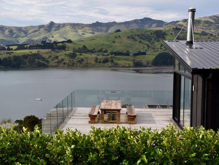 Views at the Luxury Akaroa Accommodation