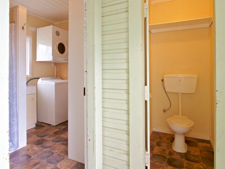 Toilet and Laundry
