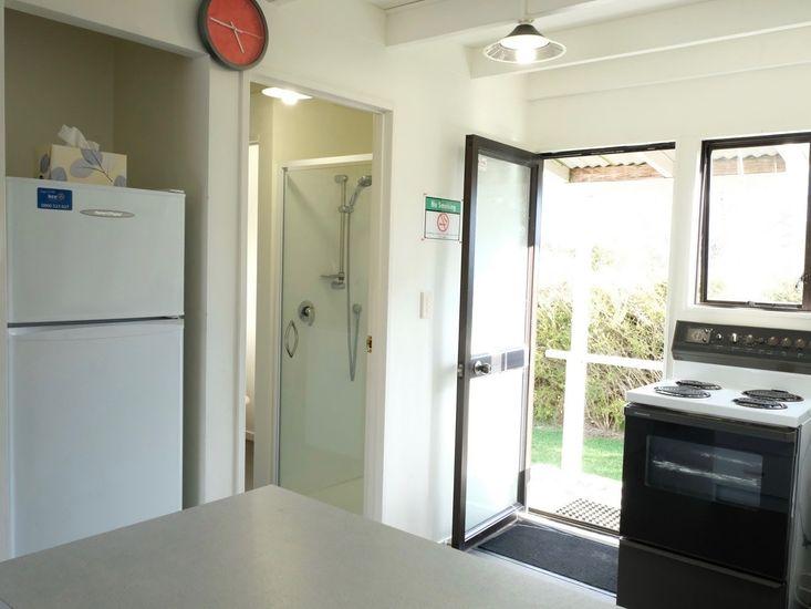 Kitchen to Bathroom