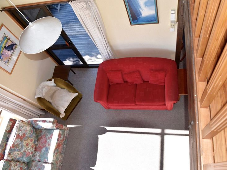 View to Lounge from Mezzanine