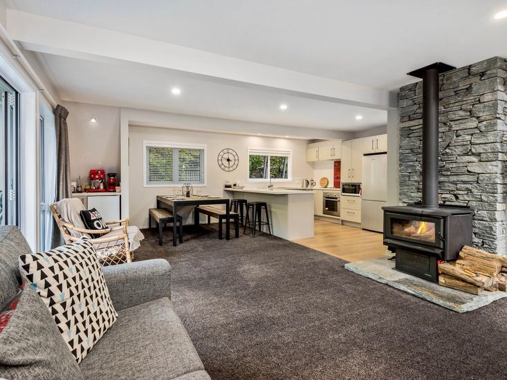 Living, Dining, Kitchen - Upstairs