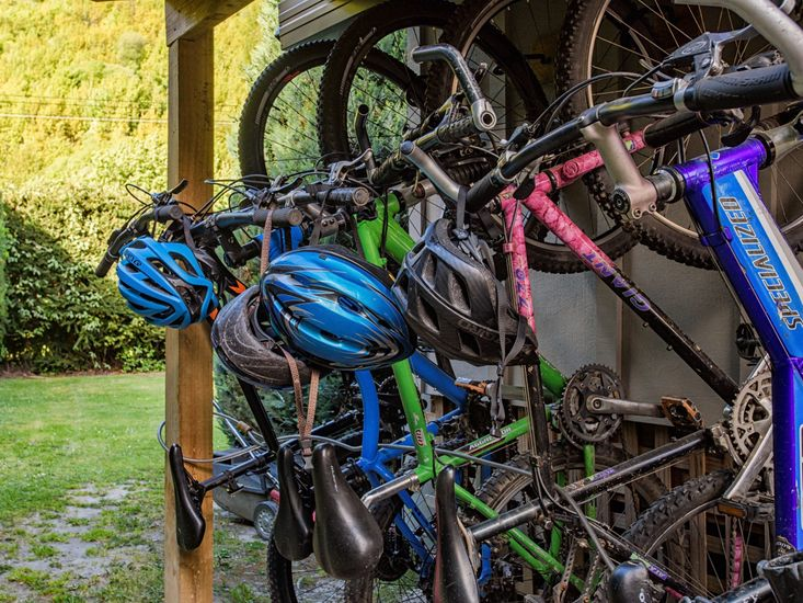 Bikes available for guests