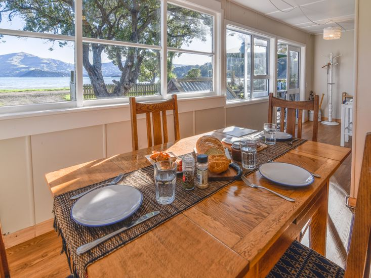 Sea Views from Dining Area