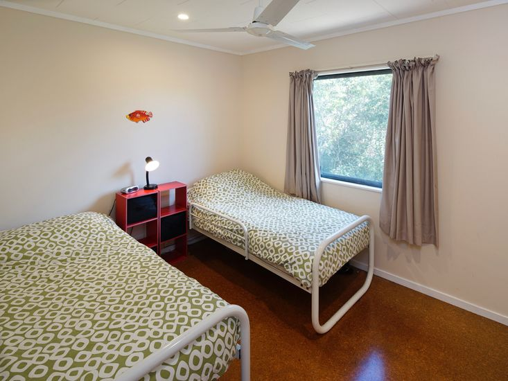 Bedroom 3 - Beds can be zipped together to form a king