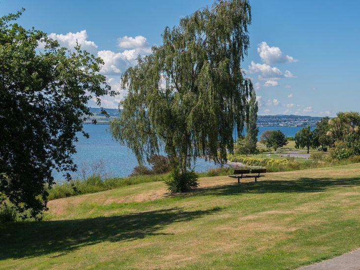 Lakefront - across road