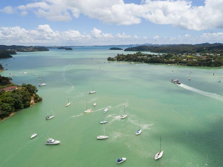 Opua Bay view