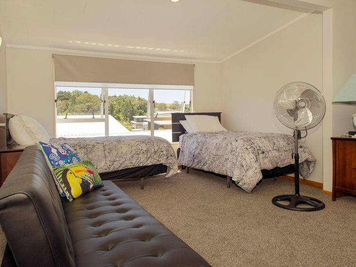 Upstairs Extra Bedding
