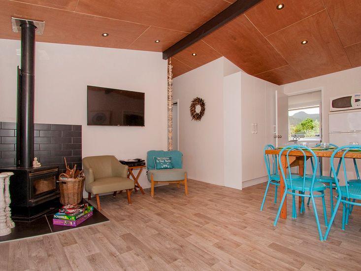 Dining + Lounge Area