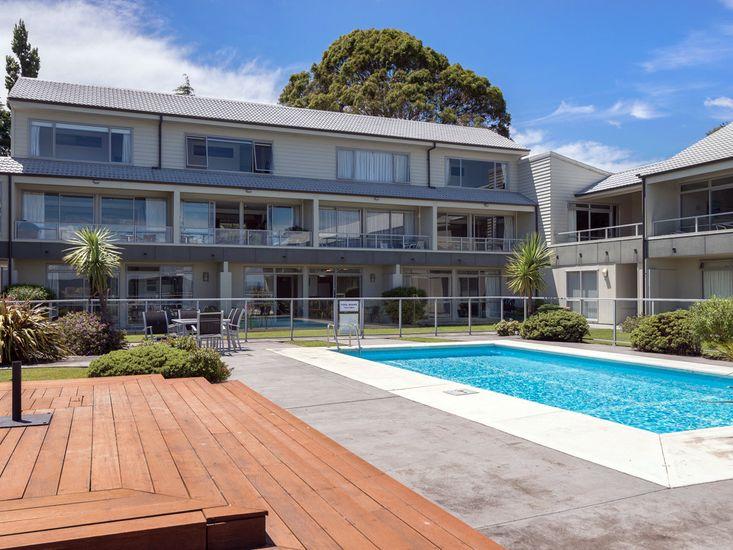 Exterior + Pool