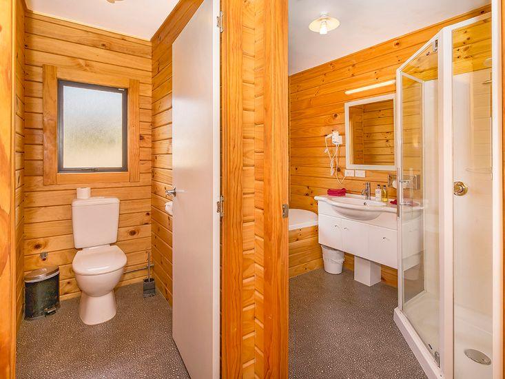 Bathroom + Standalone Toilet