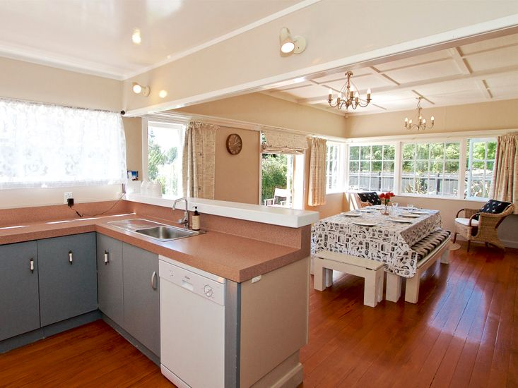 Kitchen + Dining Area *Dishwasher unavailable for guest use due to maintenance*