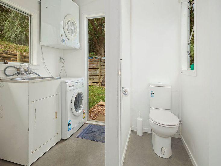 Laundry + Standalone Toilet
