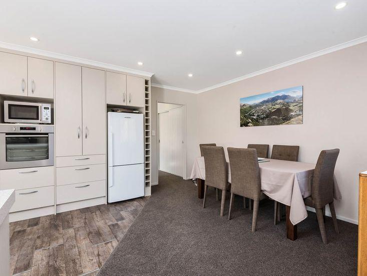 Kitchen + Dining Area