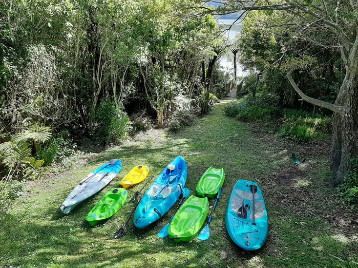 Complimentary kayaks for guest use!