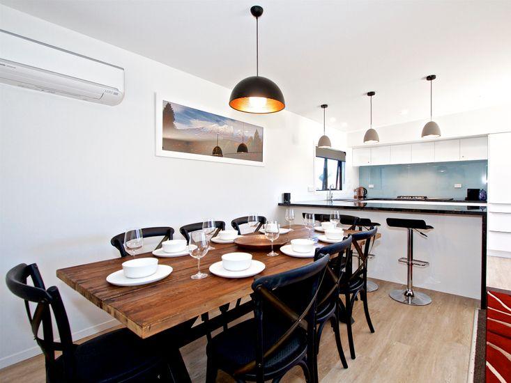Dining Area + Kitchen