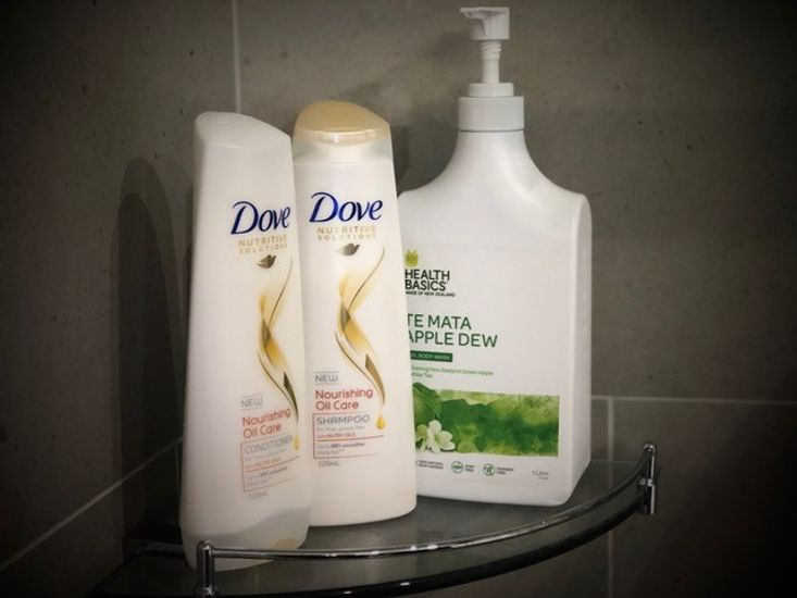 Complimentary shampoo & shower gel (*Brands of the products may vary from time to time.)