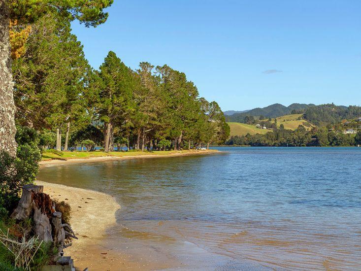 Nearby Pauanui Estuary
