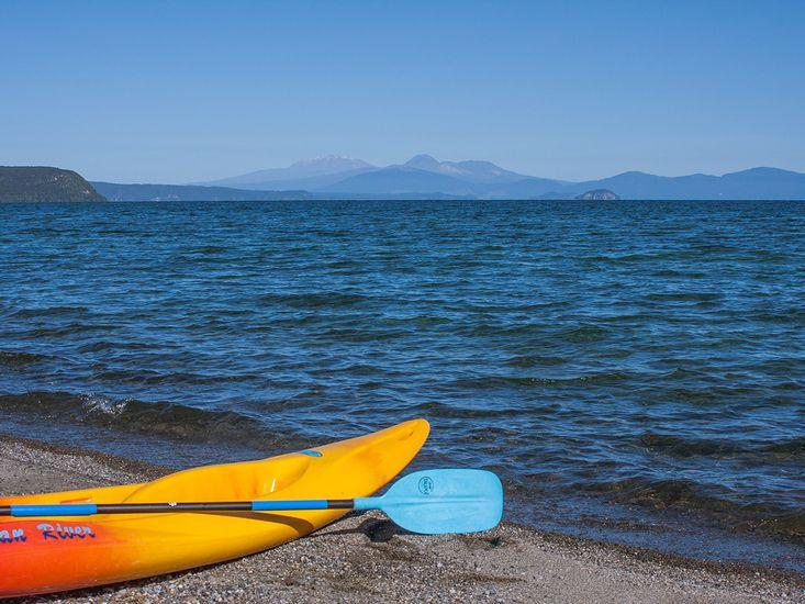 Kayak Lakeside