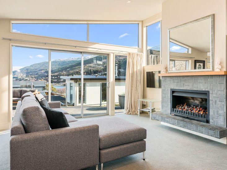 Lounge + Fireplace