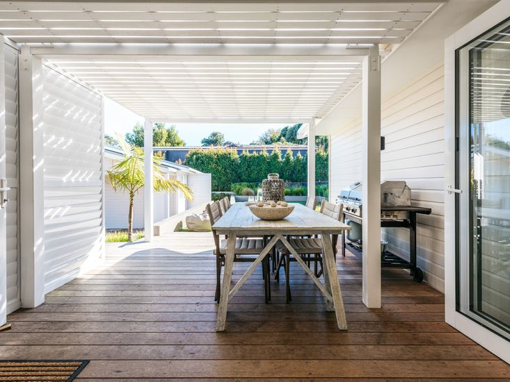 Outlook to Covered Deck
