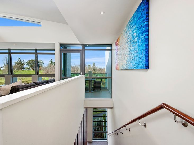 Stairwell from lounge