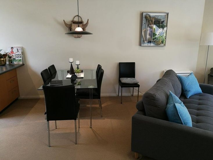 Lounge to Kitchen & Dining Area