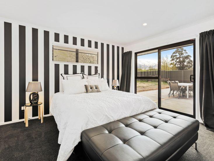 Master Bedroom Opening Onto Deck