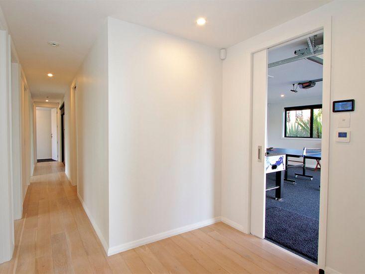 Hallway onto game room