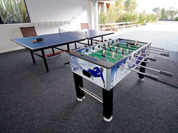 Table Tennis and Foosball