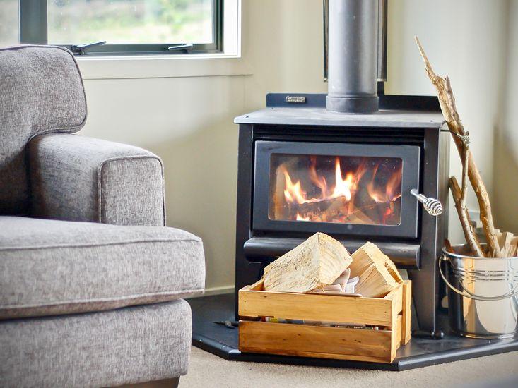 Cosy Indoor Fireplace