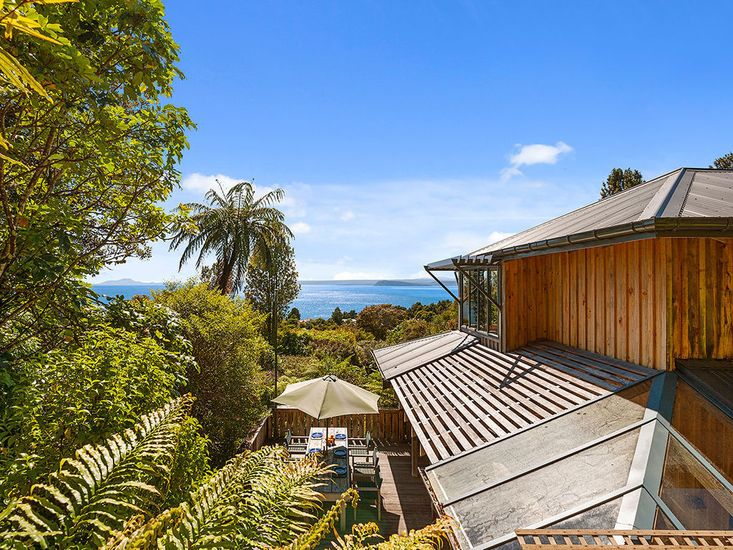 Views from the Top at Moetu Lodge