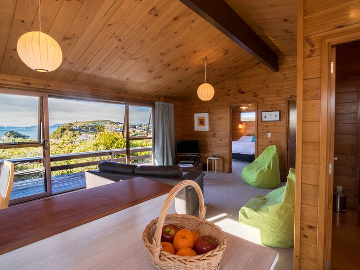 Living area with a view!