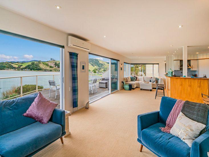 Ocean Views from Living Room Upstairs
