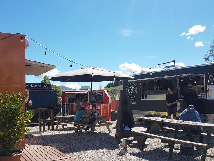Food Trucks - Right Across The Street!