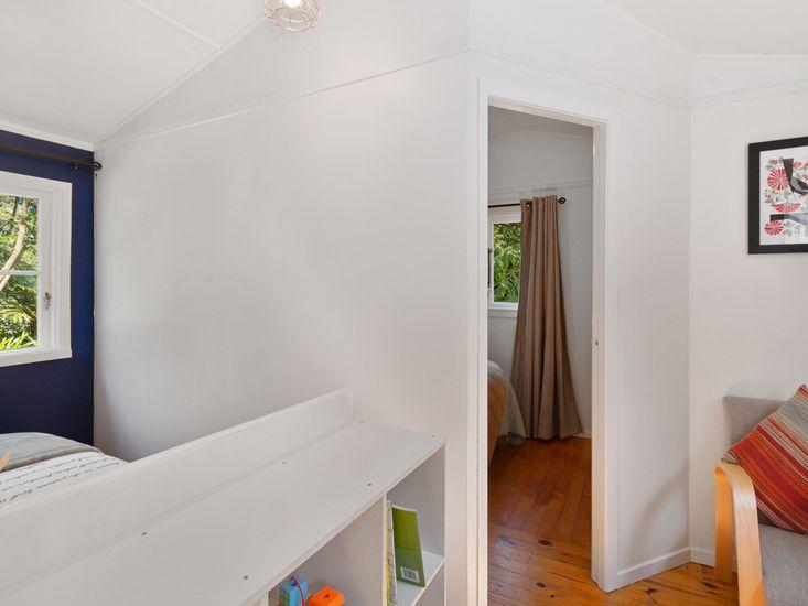 Bedroom 2 access through Bedroom 1
