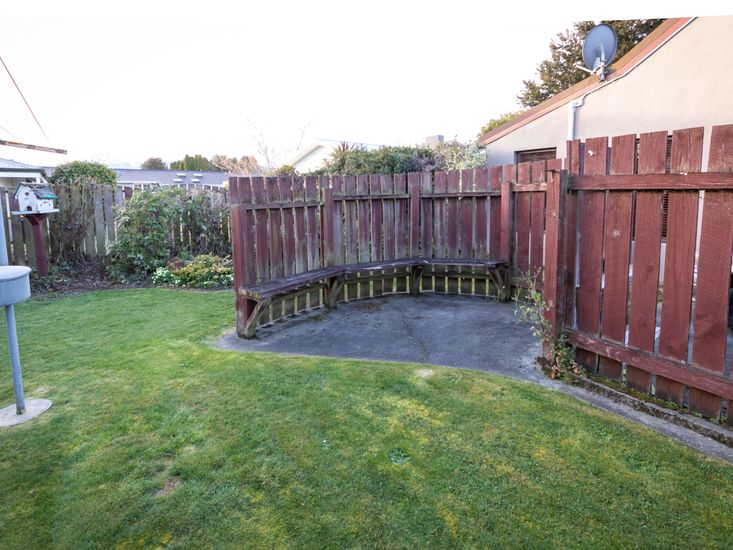 Backyard - Seating Area