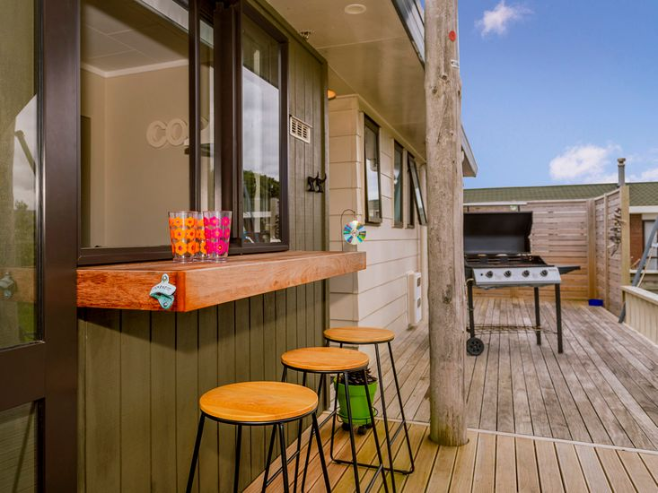 Outdoor living on the decking