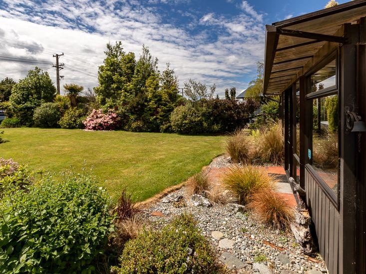 Garden Views from Sun Room