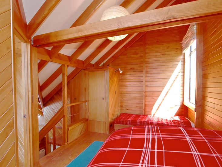 Bedroom 2, accessible through Bedroom 1 *Gap above top bunk down has been filled and safe; photo to be updated