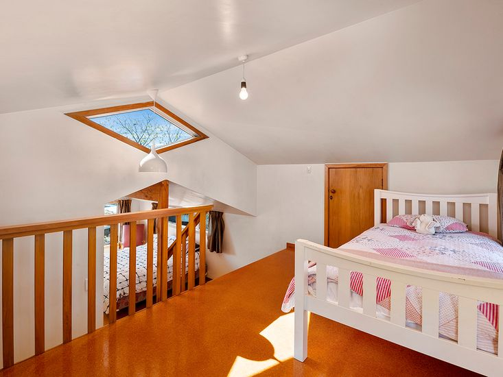 Bedroom 3 - Looking onto bedroom 2