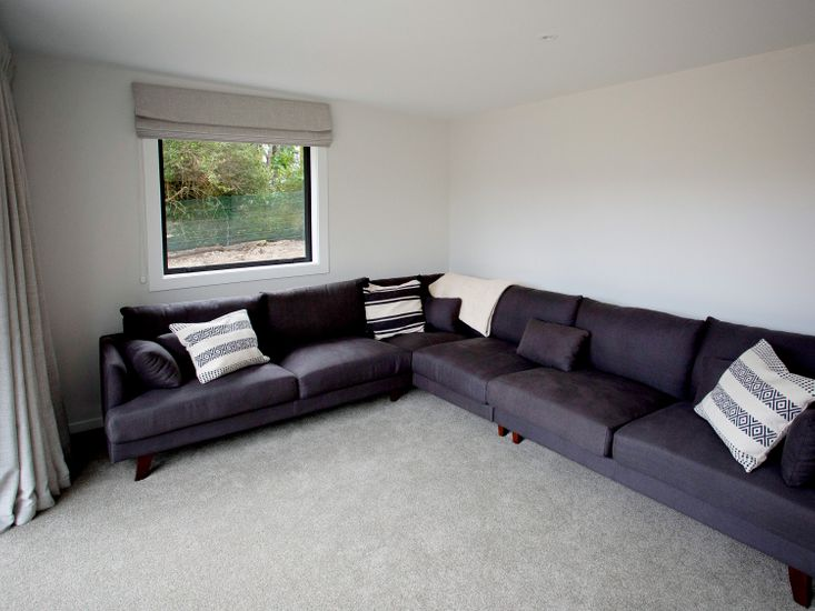 Downstairs lounge and TV room