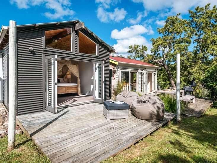 Three Sunny Outdoor Decks
